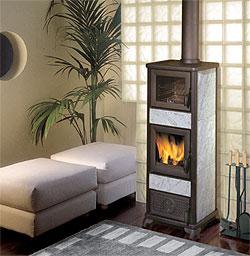 Biomasa for Estufa lena calefaccion radiadores
